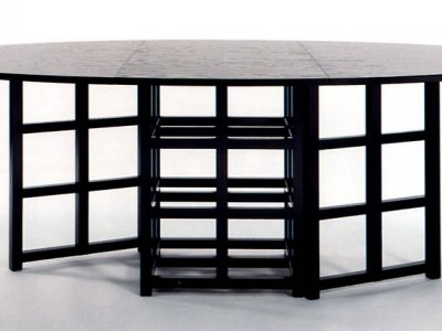 CHARLES RENNIE MACKINTOSH  DINING TABLE DS 1