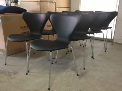 Jacobsen chair seven Leather