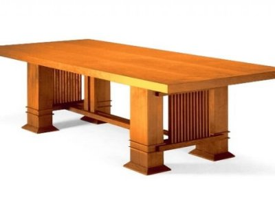FRANK LLOYD WRIGHT DINING TABLE