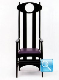 MACKINTOSH ARGYLE CHAIR