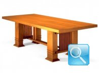 FRANK LLOYD WRIGHT DINING TABLE